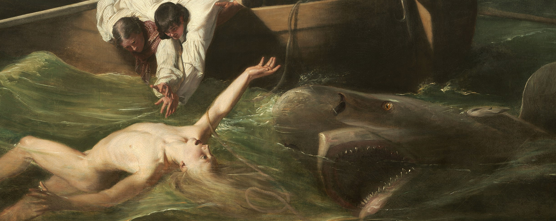 Watson And The Shark Painting