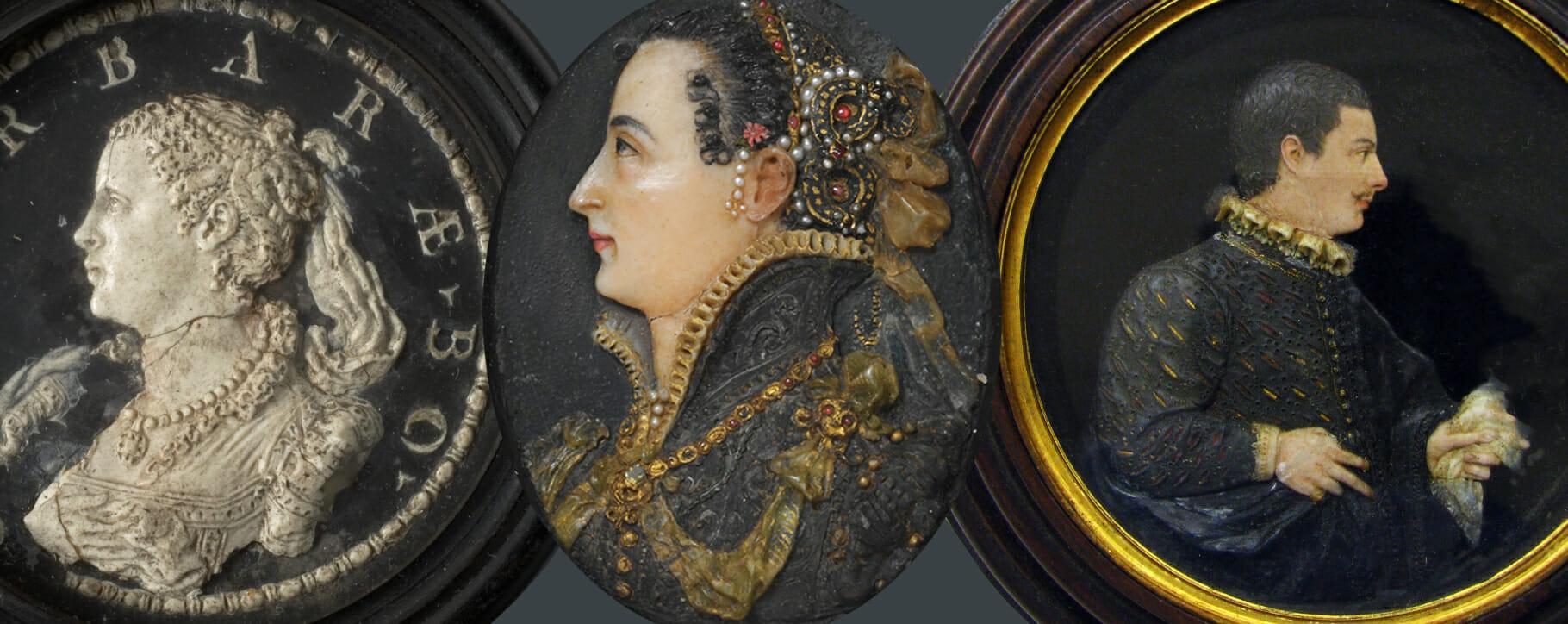Renaissance Wax Portraits 16th Century