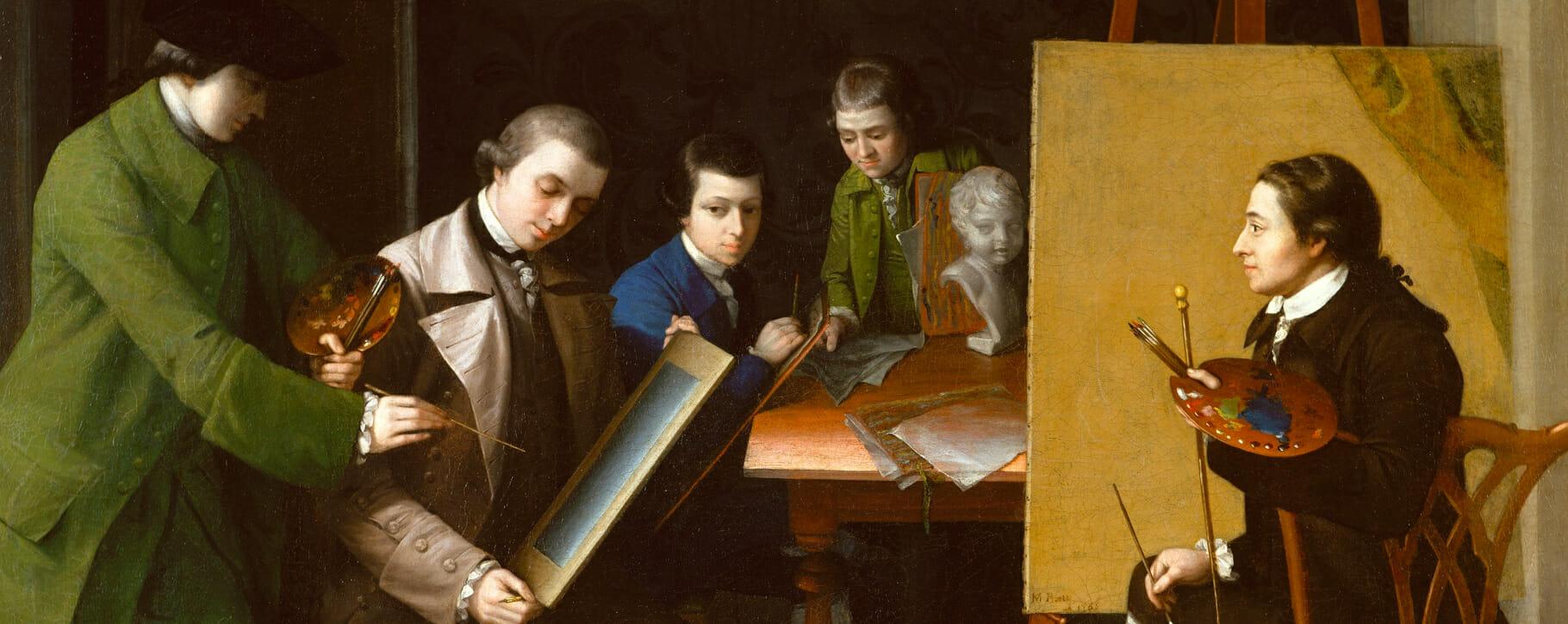 Artist Studio 18th century
