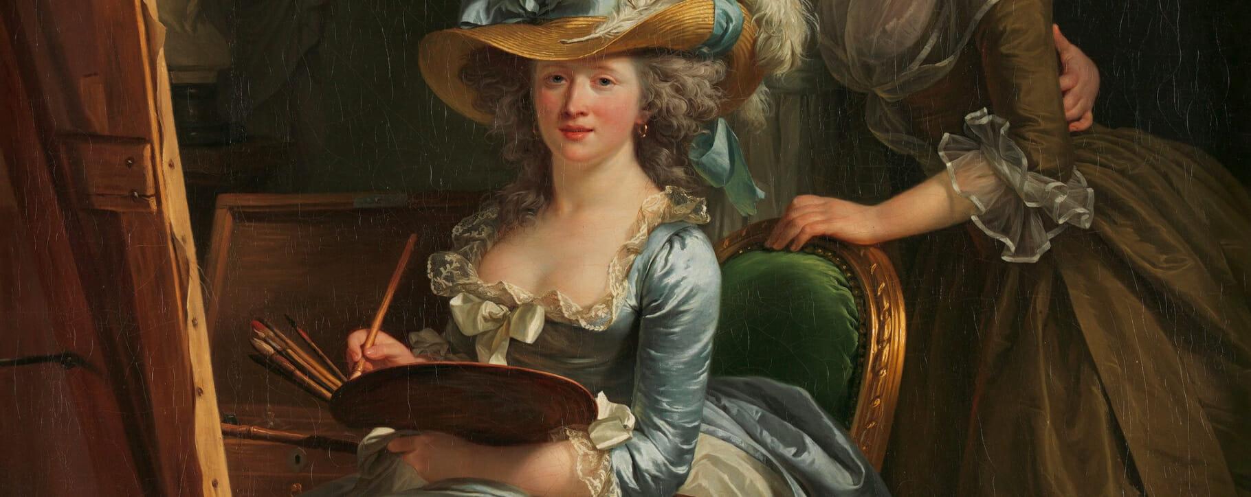 Self Portrait Artist 18th Century