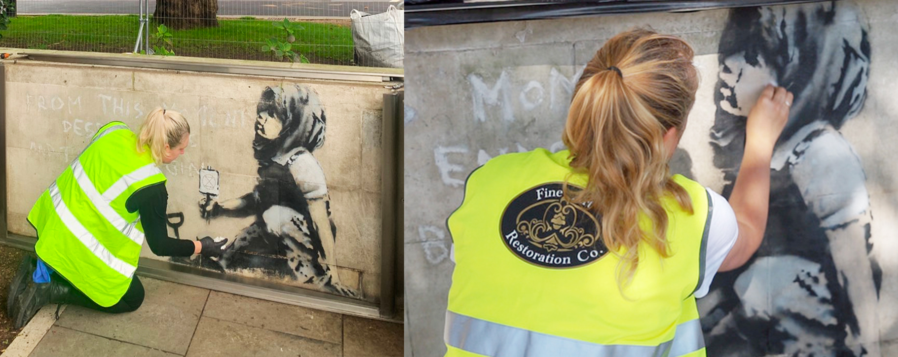 Marble Arch Banksy