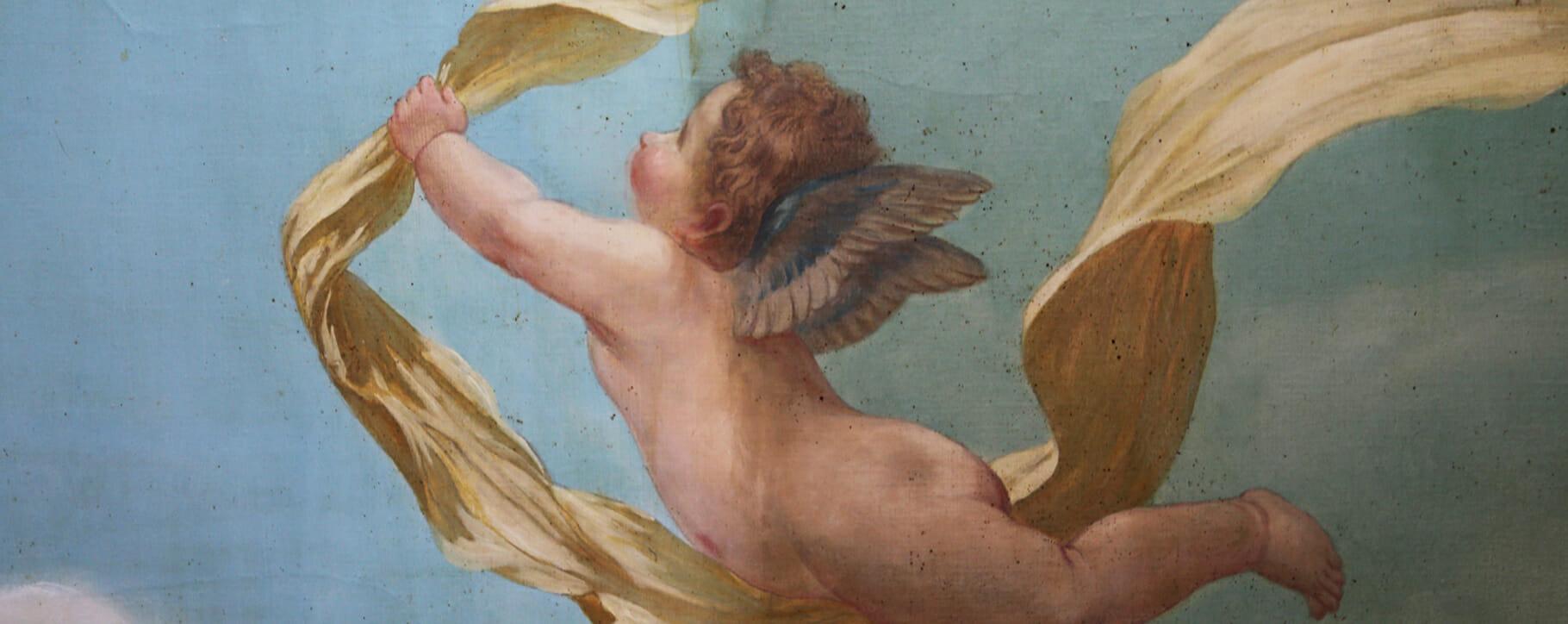 Ceiling Angel Putti