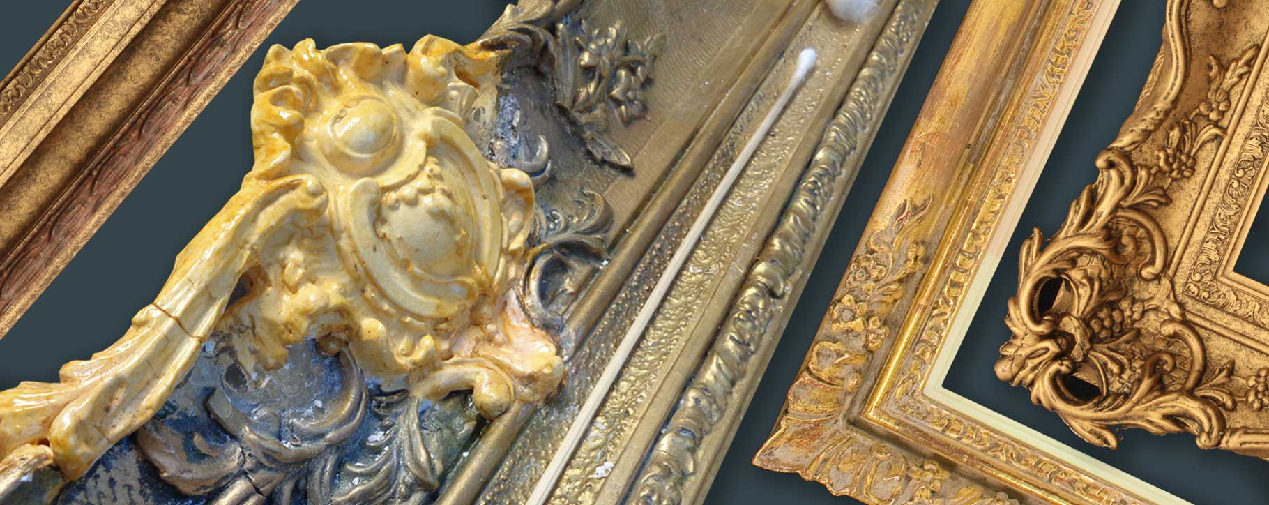 frame damage restoration