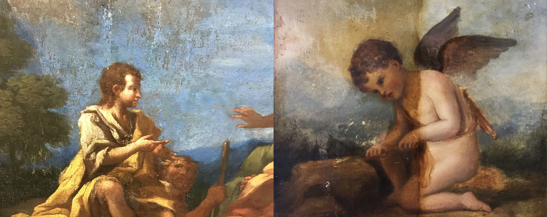 History Painting Restoration Examples