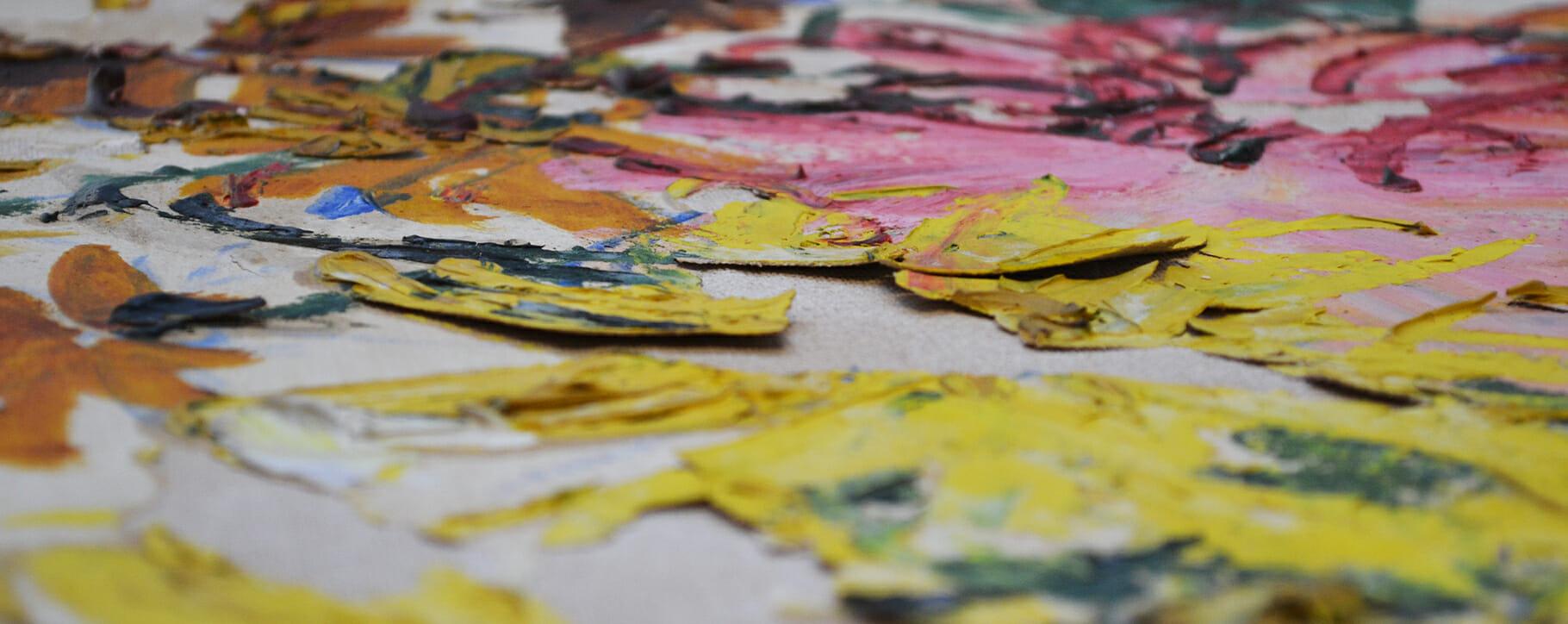 Yellow Flaking Paint