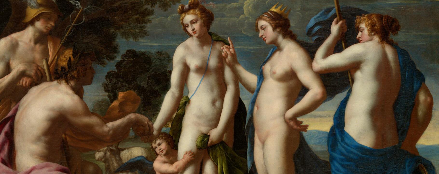 The Judgement Of Paris classical painting