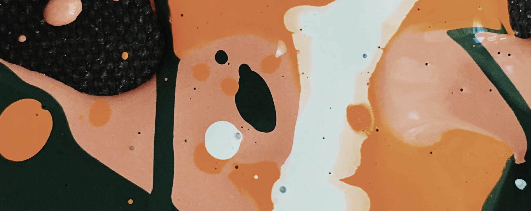 Acrylic Paint Bubbles