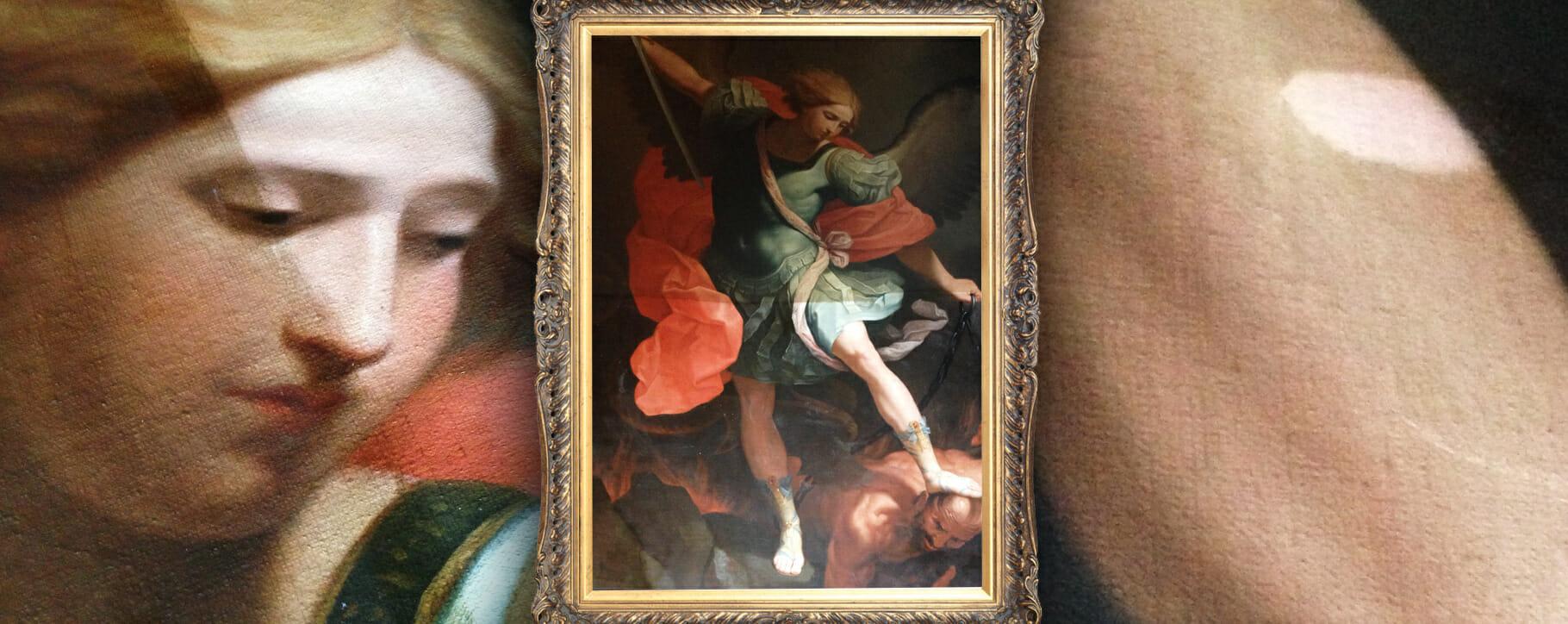 Saint Michael Religious Art Restoration
