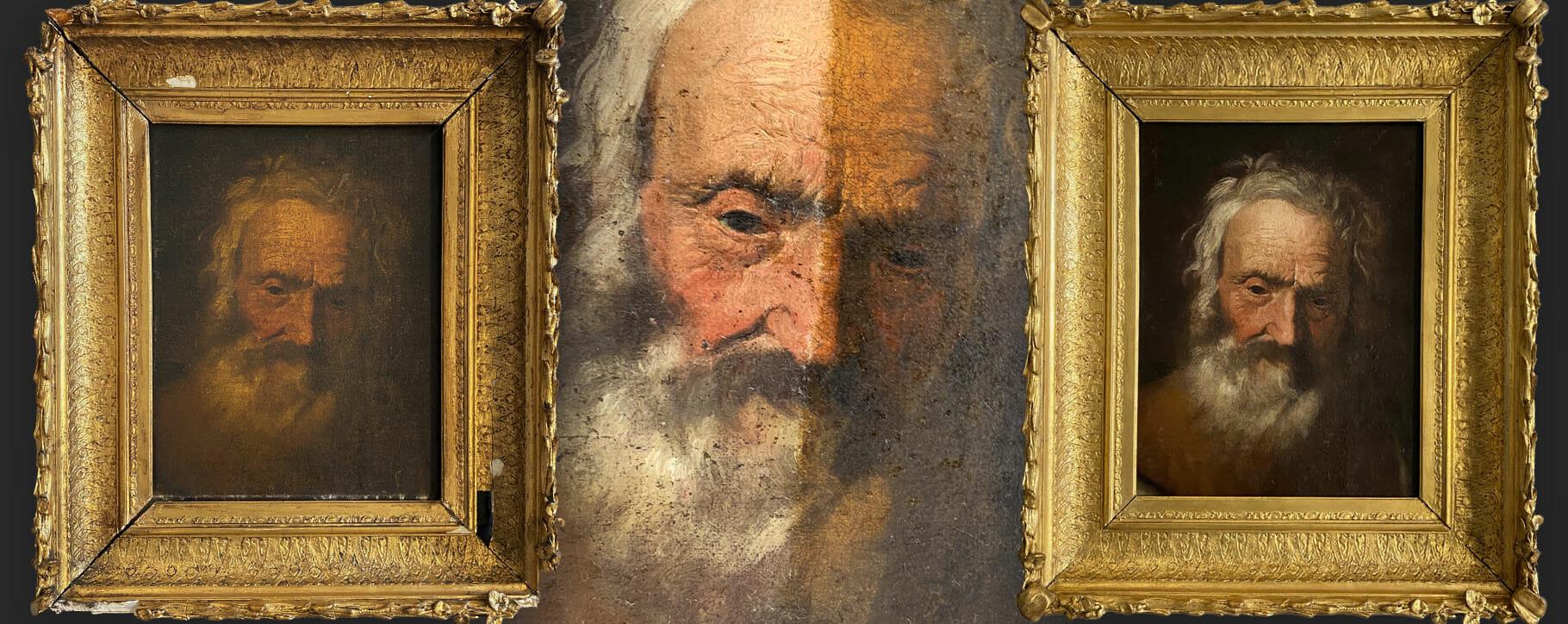 Tintoretto Restoration Varnish Frame