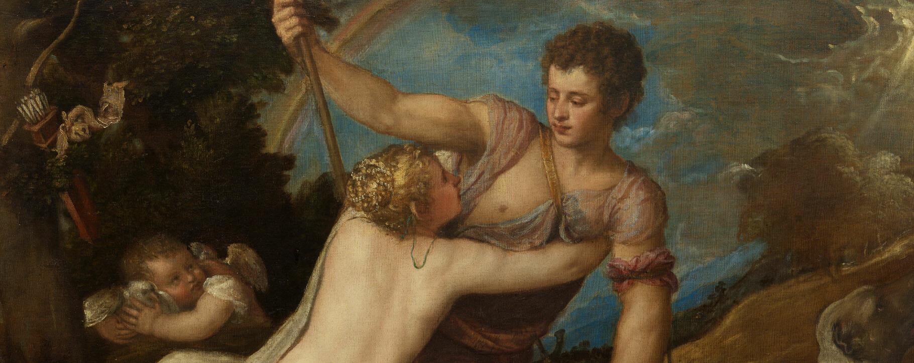 Titian Venus Adonis Classical History Painting