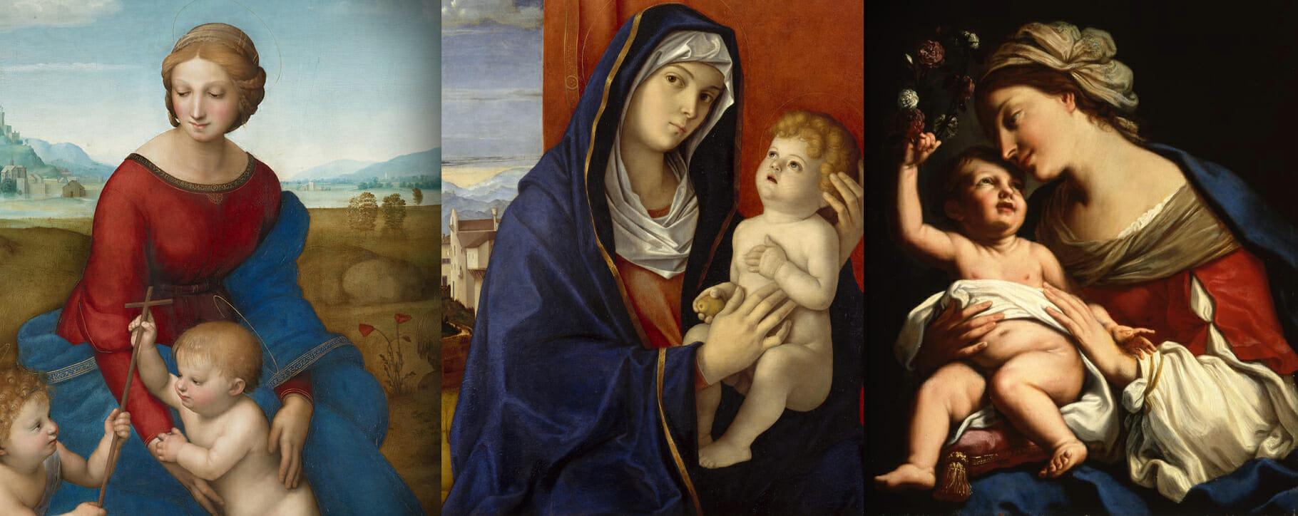 Ultramarine Virgin Mary