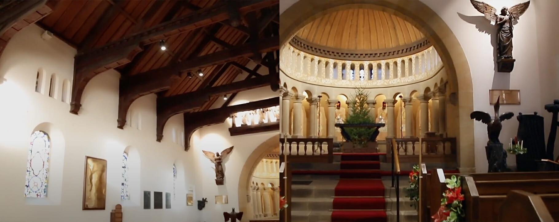 Wreay Church Interior