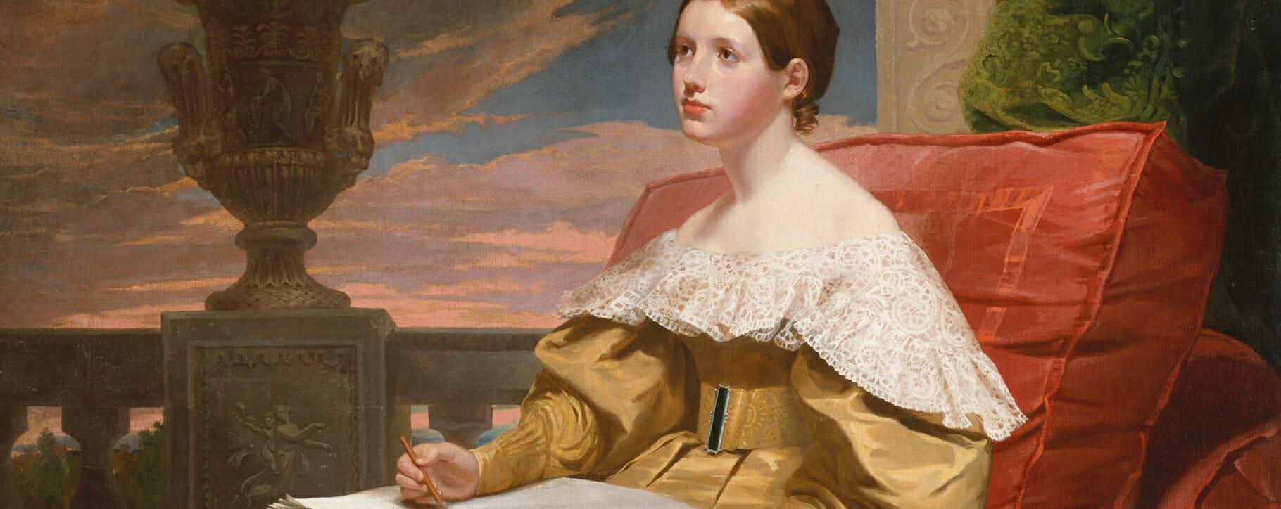 Samuel F. B. Morse B Victorian Portrait