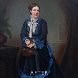 painting after restoration