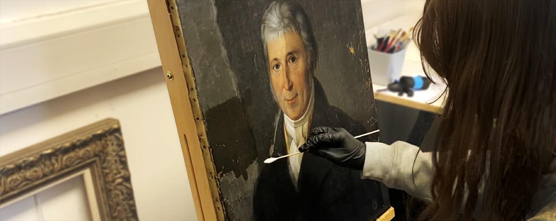 Portrait Cleaning Conservator Screencap