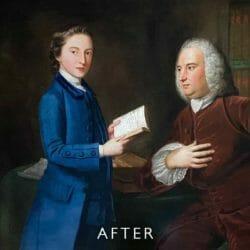 after restoration for mould