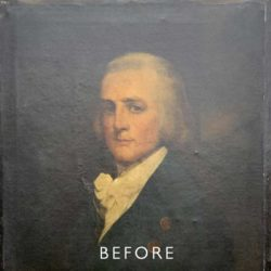 overpainting before restoration