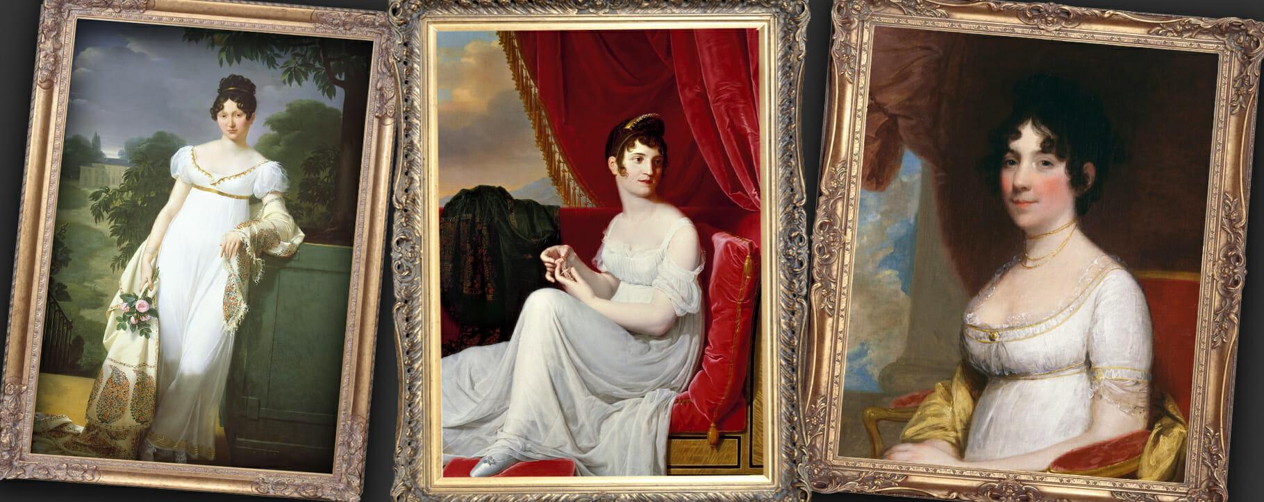 Regency Fashion Portraits
