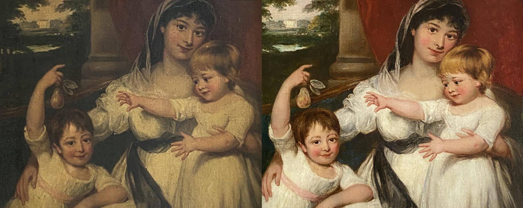 Regency Mother Varnish Removal