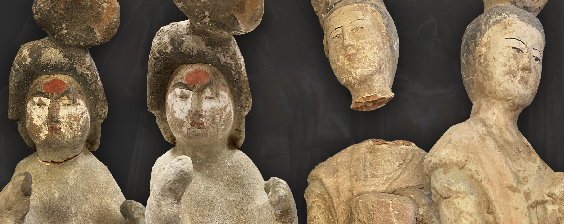 Terracotta Restoration Heads