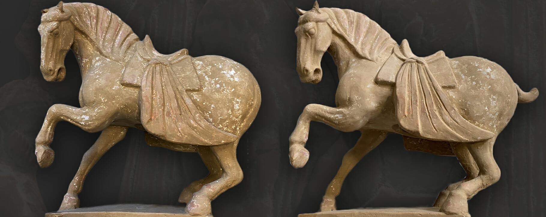 Terracotta Restoration Horse