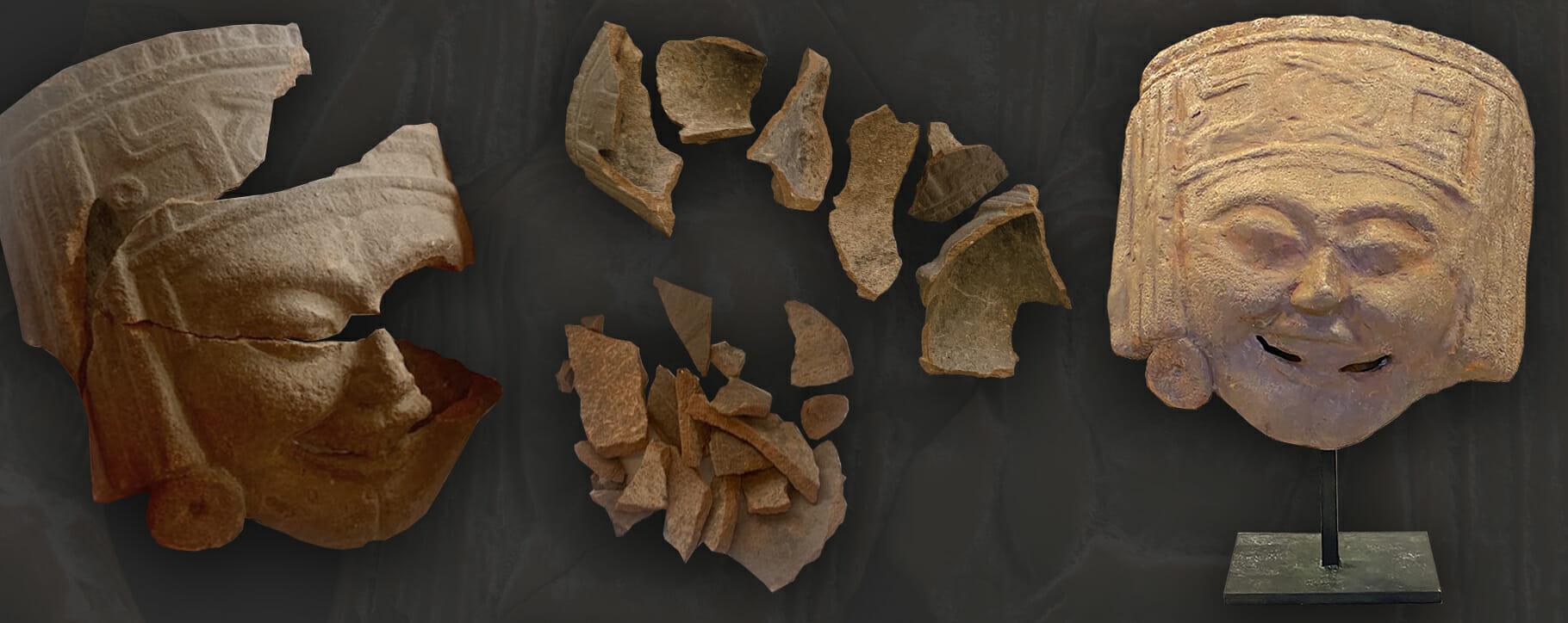 Terracotta Restoration Mask