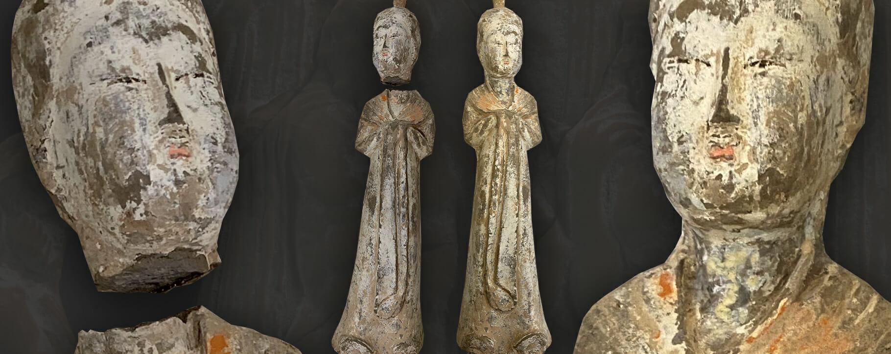 Terracotta Restoration Tang Dynasty